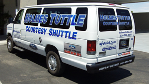 Holmes Tuttle Courtesy Shuttle